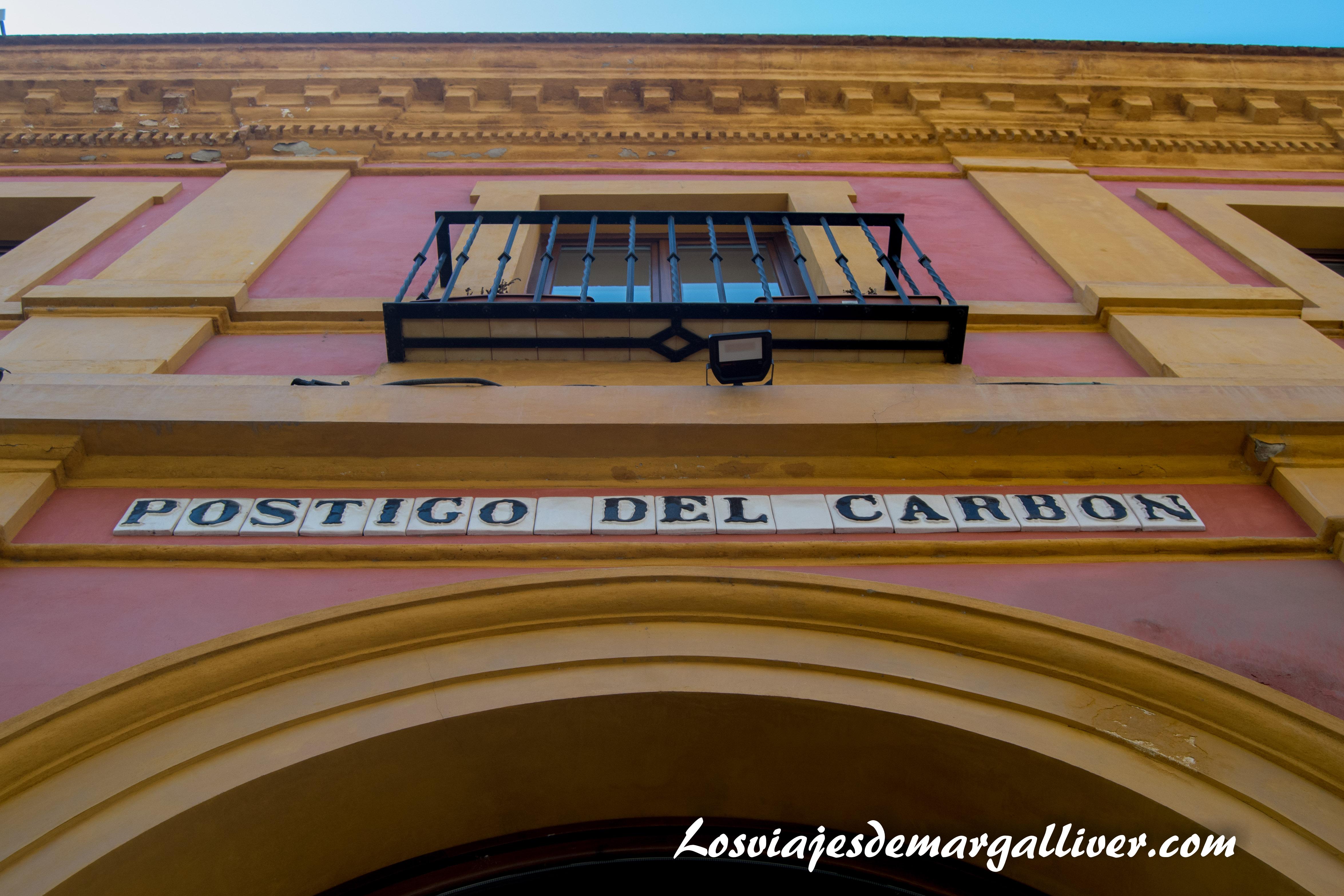 Postigo del carbón en la Sevilla americana - Los viajes de Margalliver